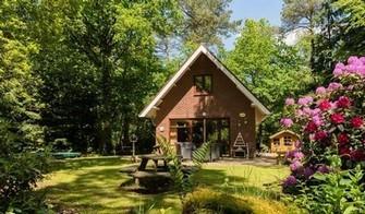 Diverse boshuisjes op de Veluwe in Emst