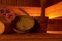 wellness huisje met sauna