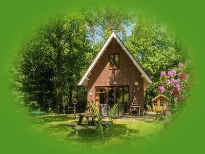 natuurhuisjes op de Veluwe