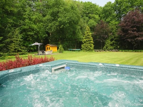 Luxe vakantiehuis veluwe grootste verzameling for Huisje met sauna en jacuzzi 2 personen